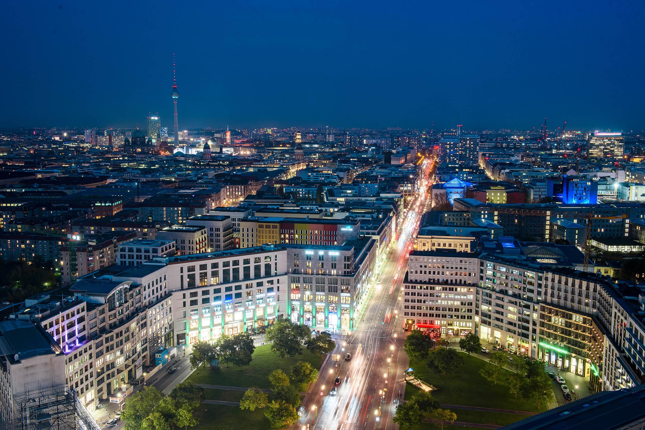 Ausblick vom Potsdamer Platz