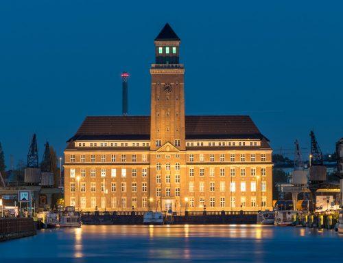 Verwaltungsgebäude am Berliner Westhafen