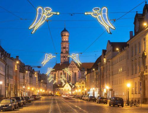 Weihnachten in der Augsburger Maximilianstraße